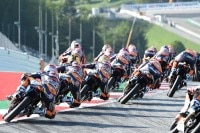 Im Red Bull Rookies Cup geht es immer eng her