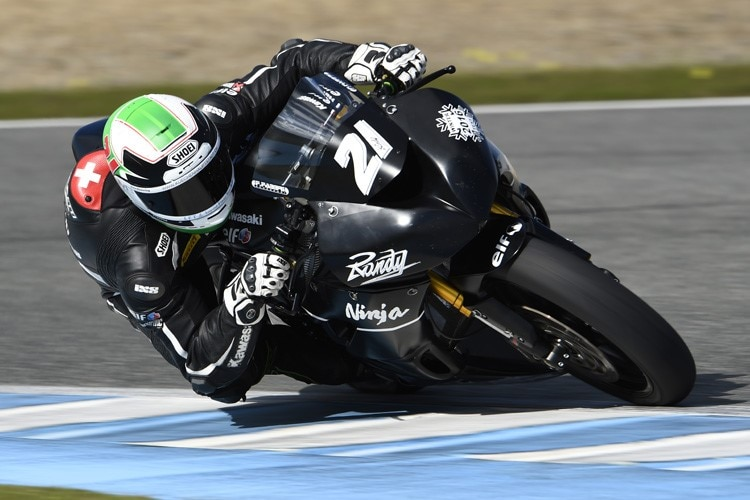 Randy Krummenacher in Jerez