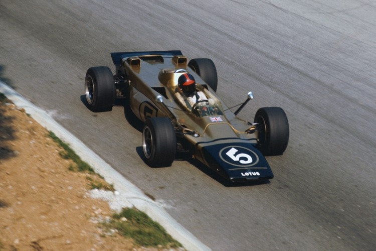 Emerson Fittipaldi im Lotus 56B in Monza 1971
