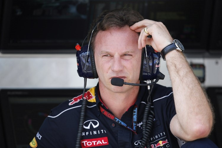 Christian Horner vom Red Bull Racing Team