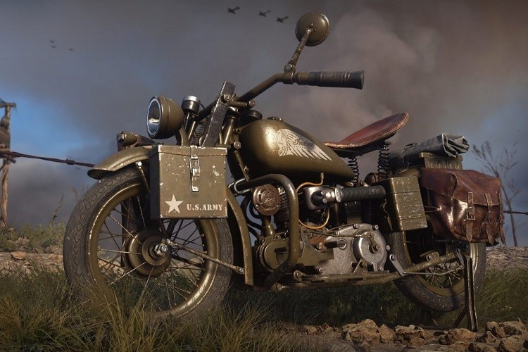 Indian Scout 741B in Call of Duty:WWII