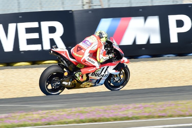 Andrea Iannone: Bestzeit im Warm-up in Le Mans
