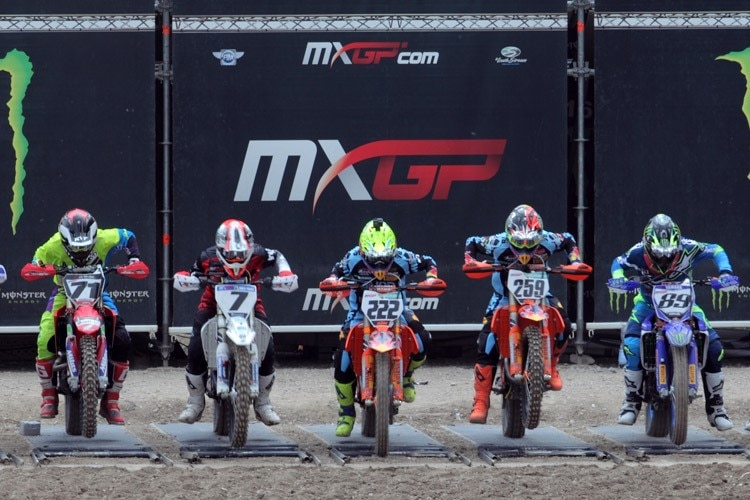 Antonio Cairoli am Start in Trentino
