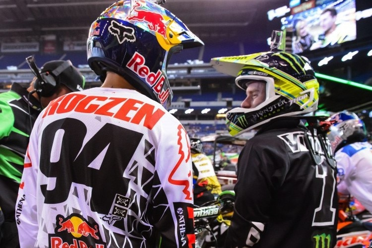 2014 Trainingspartner: Ryan Villopoto und Ken Roczen