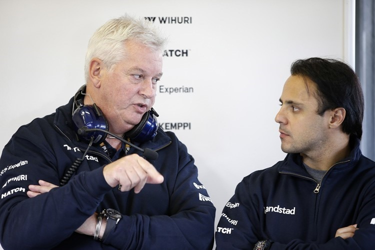 Pat Symonds mit Felipe Massa