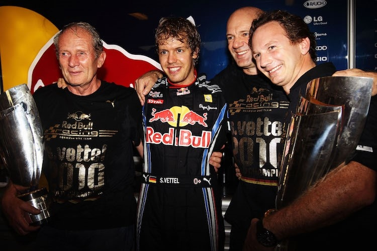 2010: Red Bull Racing ist Weltmeister
