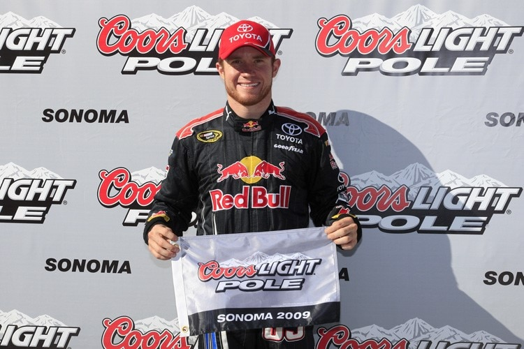 Red Bull-Pilot Vickers fährt die Coors-Light-Pole in Sonoma