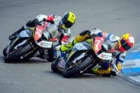 Lorenz Sennhauser (7) und Chris Burri (34) – Superstock 1000