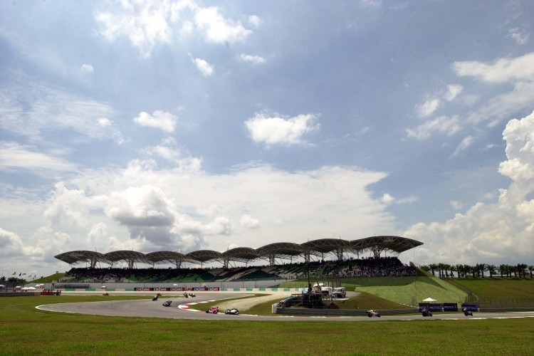 Der 5,543 Kilometer lange Sepang International Circuit