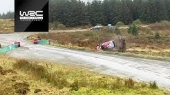 WRC 2019 Wales - Crash Compilation