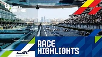 WEC 2019 Shanghai 4h - Highlights Rennen