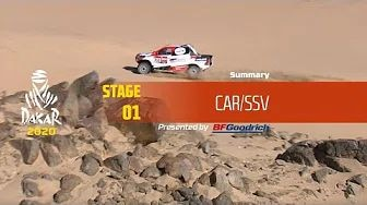 Rallye Dakar 2020 - Highlights Auto Etappe 1