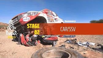 Rallye Dakar 2020 - Highlights Auto Etappe 2