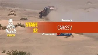Rallye Dakar 2020 - Highlights Auto Etappe 12