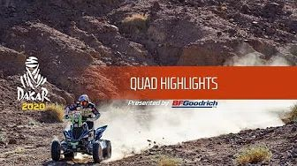 Rallye Dakar 2020 - Highlights Quad