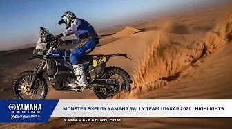 Rallye Dakar 2020 - Yamaha Highlights