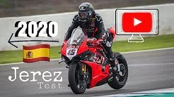 Superbike-WM 2020 Jerez Test -  Backstage und Onboard mit Scott Redding