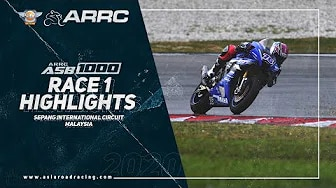 ARRC 2020 Sepang - Rennen 1 Highlights