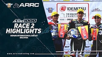 ARRC 2020 Sepang - Highlights Rennen 2