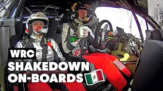 WRC 2020 Mexiko - Onboard Highlights
