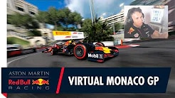 F1 2020 - Monaco Virtual GP Highlights mit Alex Albon und Kai Lenny
